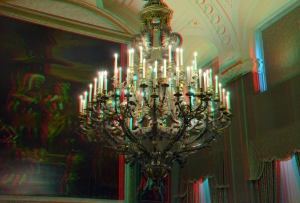 Chandelier Royal Palace Amsterdam 3D