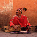 Marrakech people by Ahron de Leeuw via flickr