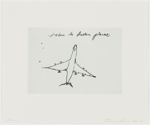 Taken to another place by Tracey Emin
