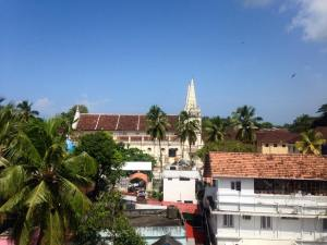 Rooftop views of Fort Kochi