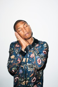 pharell from GQ UK fall/winter style guide 2013