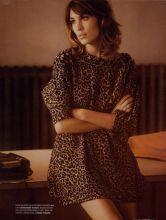 Alexa Chung leopard dress