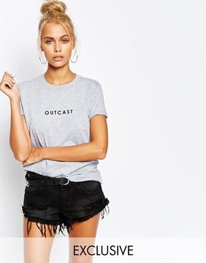 asos adolescent outcast tshirt
