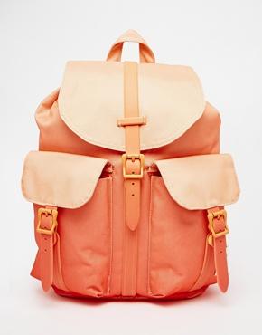 asos herschel peach rubber bag