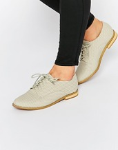 asos lost ink beat grey lace up shoes