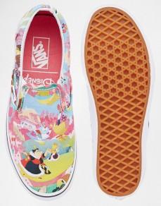 Alice in Wonderland Vans from Asos