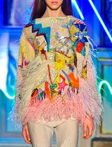 Tsumori Chisato Autumn Winter 2011 Paris Fashion Week Copyright Catwalking.com 'One Time Only' Publication Editorial Use Only